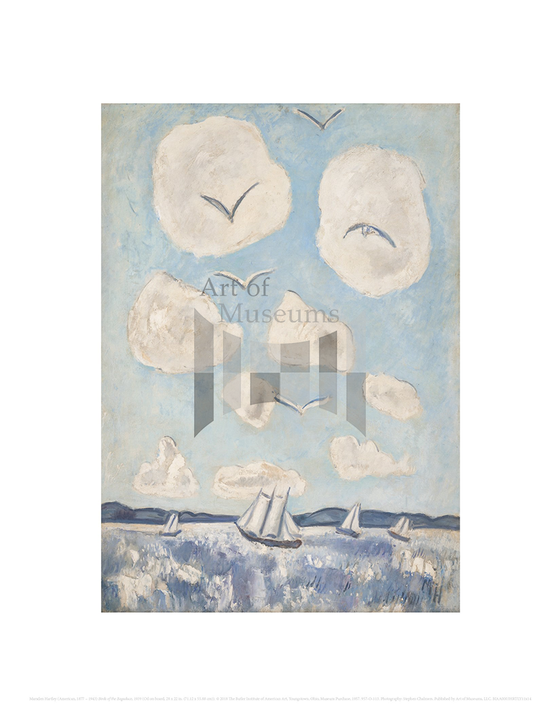 Birds of the Bagaduce, Marsden Hartley