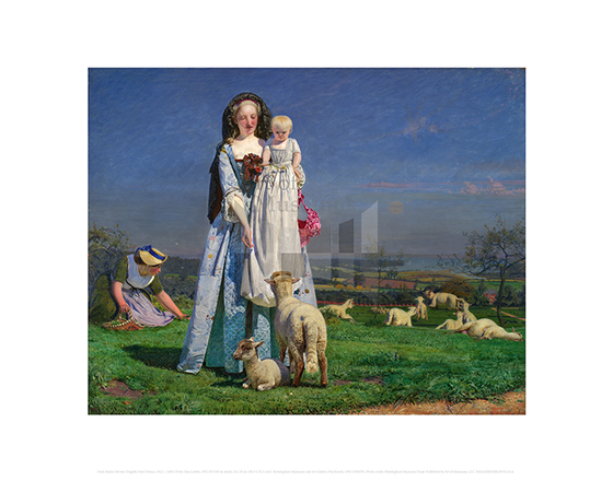 Pretty Baa-Lambs, Ford Madox Brown
