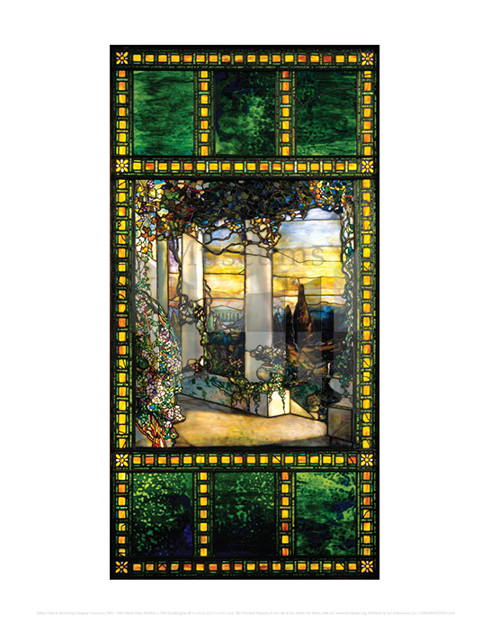 Hinds House Window, Tiffany Glass & Decorating Company