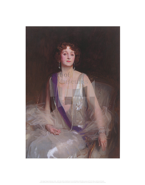 Grace Elvina, Marchioness Curzon of Kedleston, John Singer Sargent