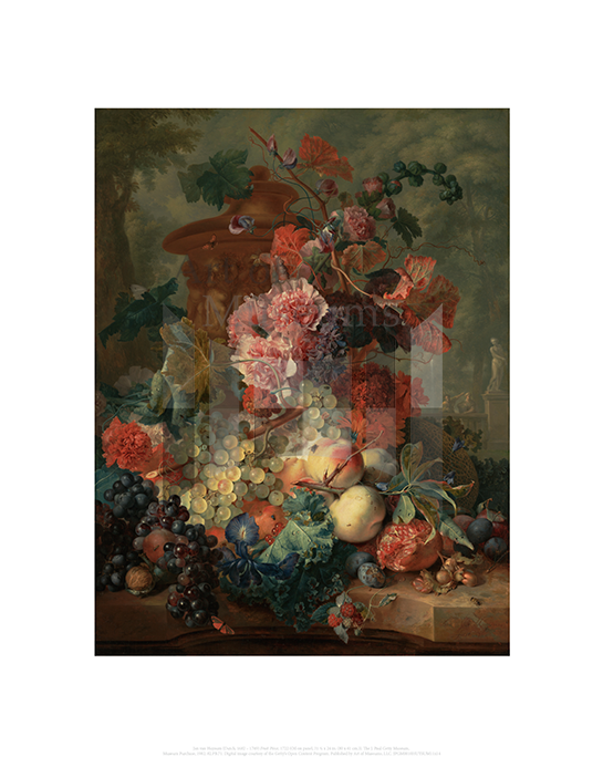 Fruit Piece, Jan van Huysum