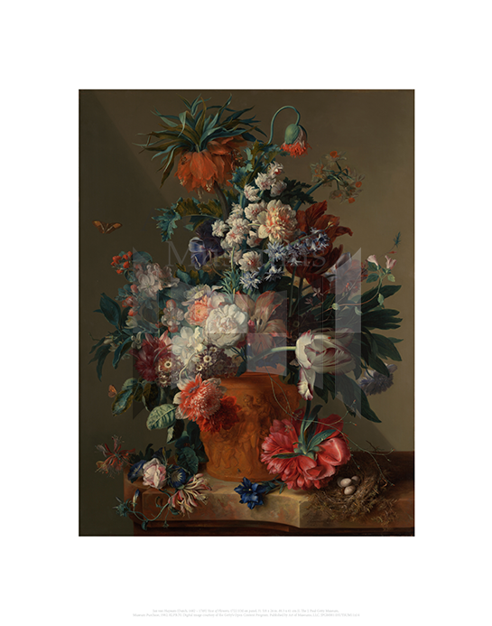 Vase of Flowers, Jan van Huysum