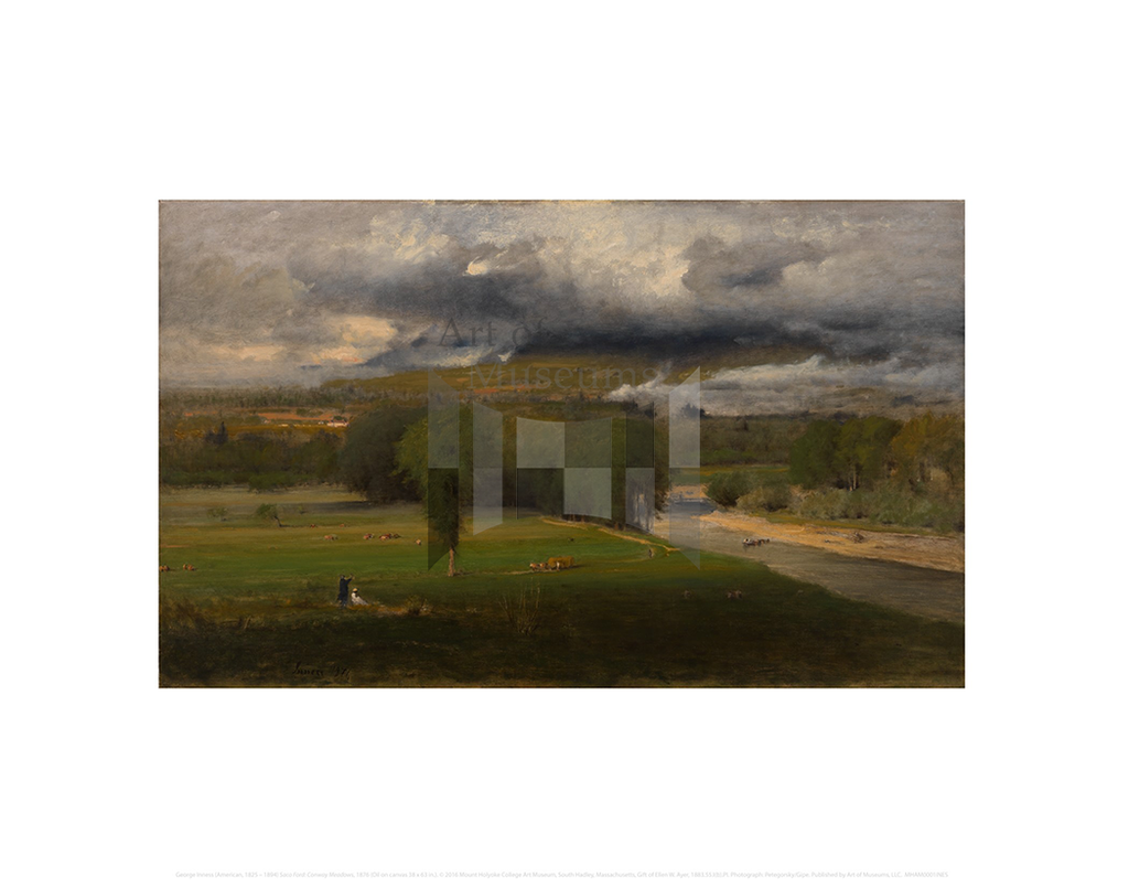 Saco Ford: Conway Meadows, George Inness