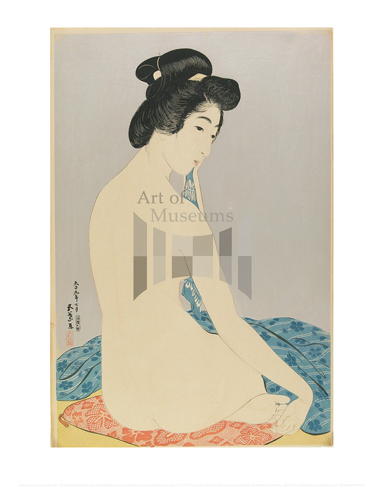 Woman After a Bath, Hashiguchi Goyo