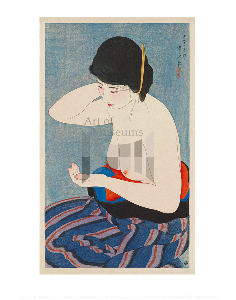 Applying Powder, Ito Shinsui
