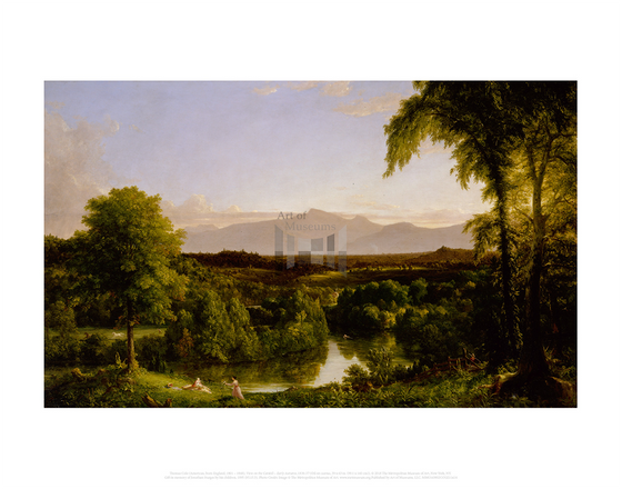 View on the Catskill - Early Autumn, Thomas Cole