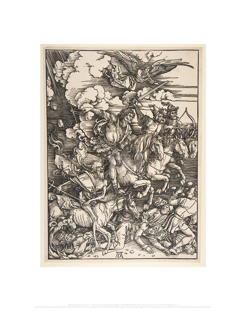 Four Horsemen of the Apocalypse, Albrecht Durer