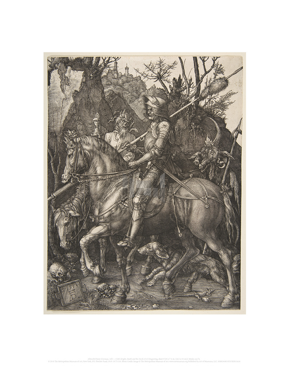 Knight, Death and the Devil, Albrecht Durer