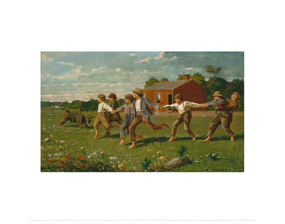 Snap the Whip, Winslow Homer