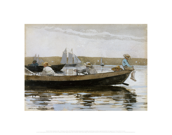 Boys in a Dory, Winslow Homer