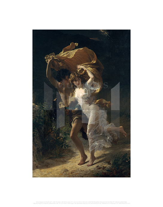 The Storm, Pierre-Auguste Cot