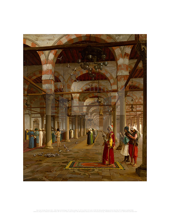 Prayer in the Mosque, Jean-Leon Gerome