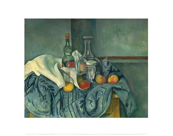 The Peppermint Bottle, Paul Cezanne