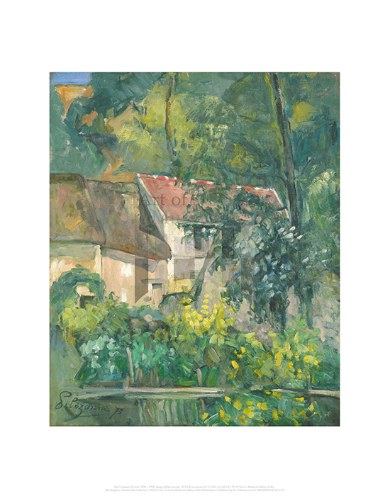 House of Pere Lacroix, Paul Cezanne