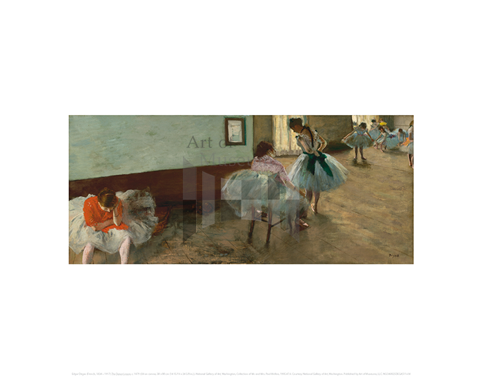 The Dance Lesson, Edgar Degas