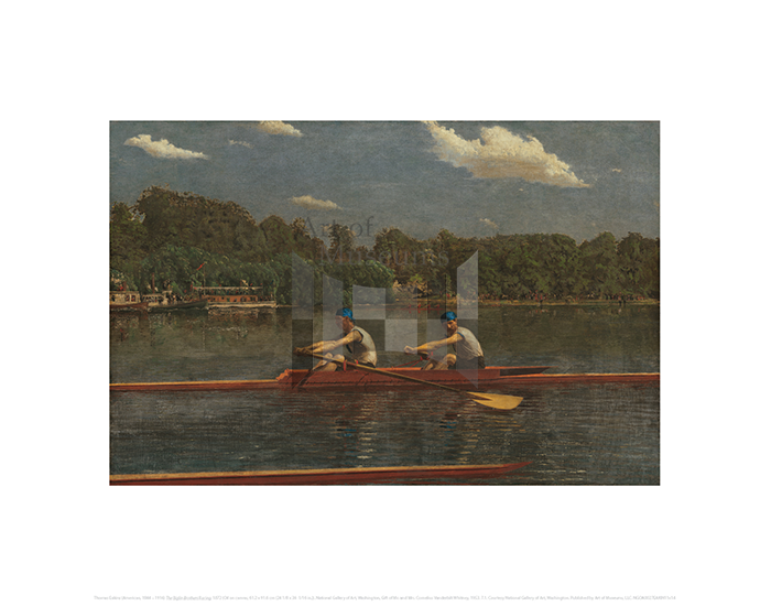The Biglin Brothers Racing, Thomas Eakins