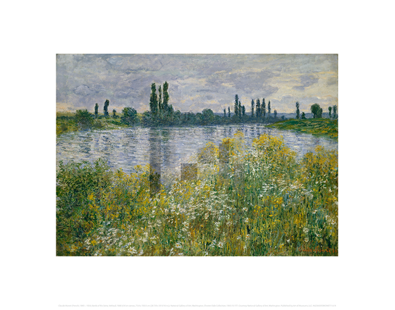Banks of the Seine, Vetheuil, Claude Monet