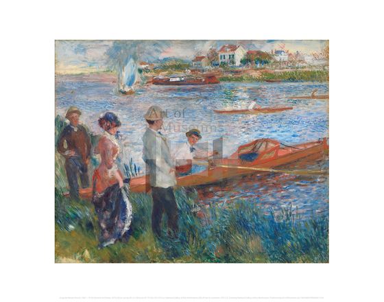 Oarsmen at Chatou, Auguste Renoir