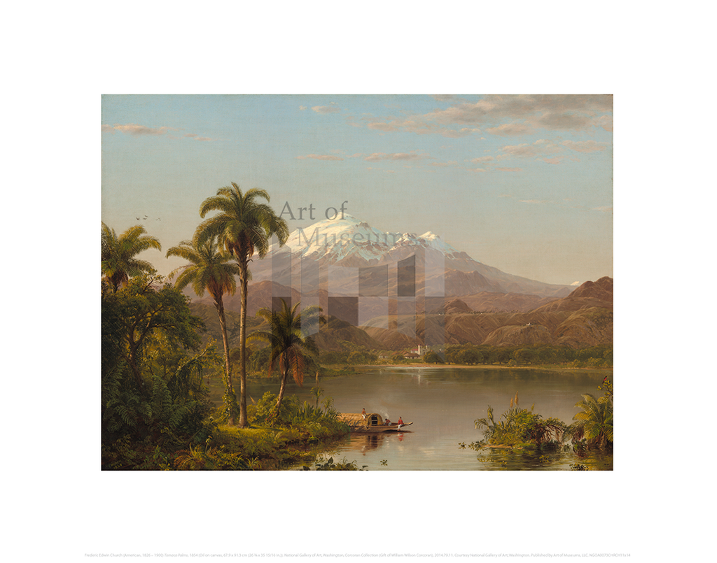 Tamaca Palms, Frederic Edwin Church