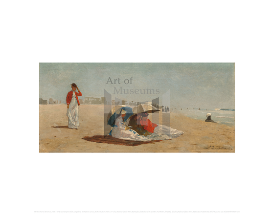 East Hampton Beach, Long Island, Winslow Homer
