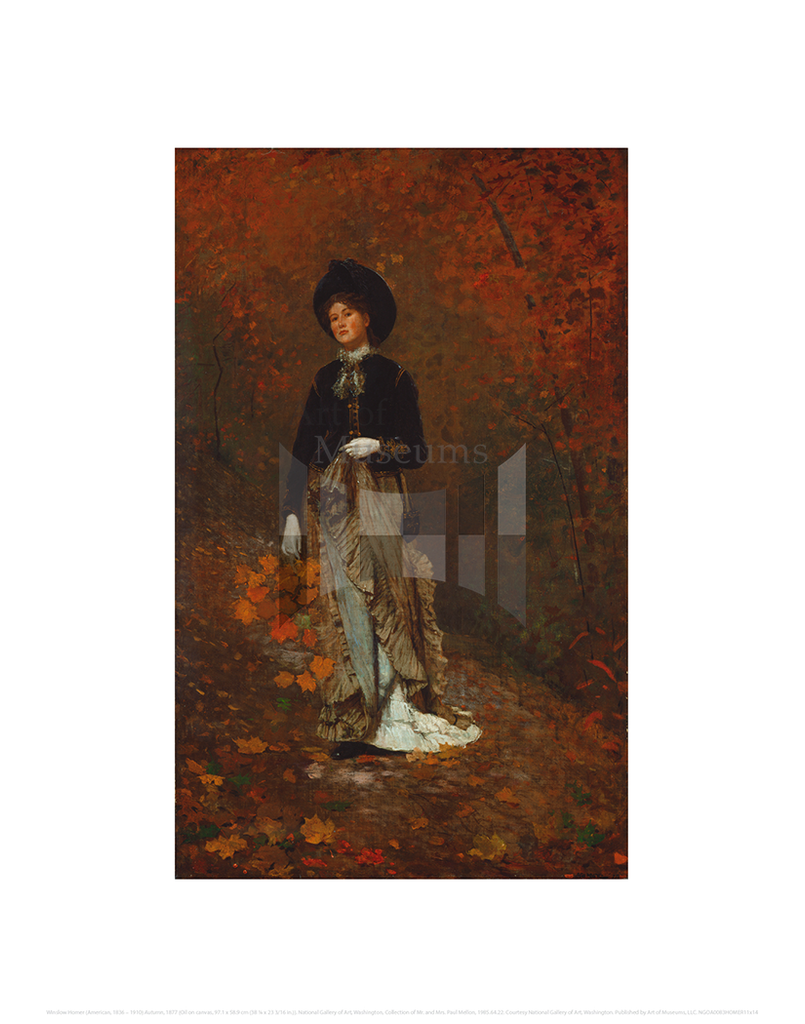 Autumn, Winslow Homer