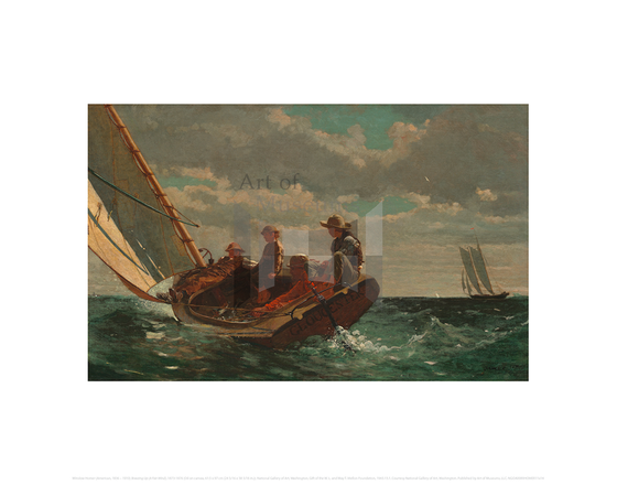 Breezing Up (A Fair Wind), Winslow Homer