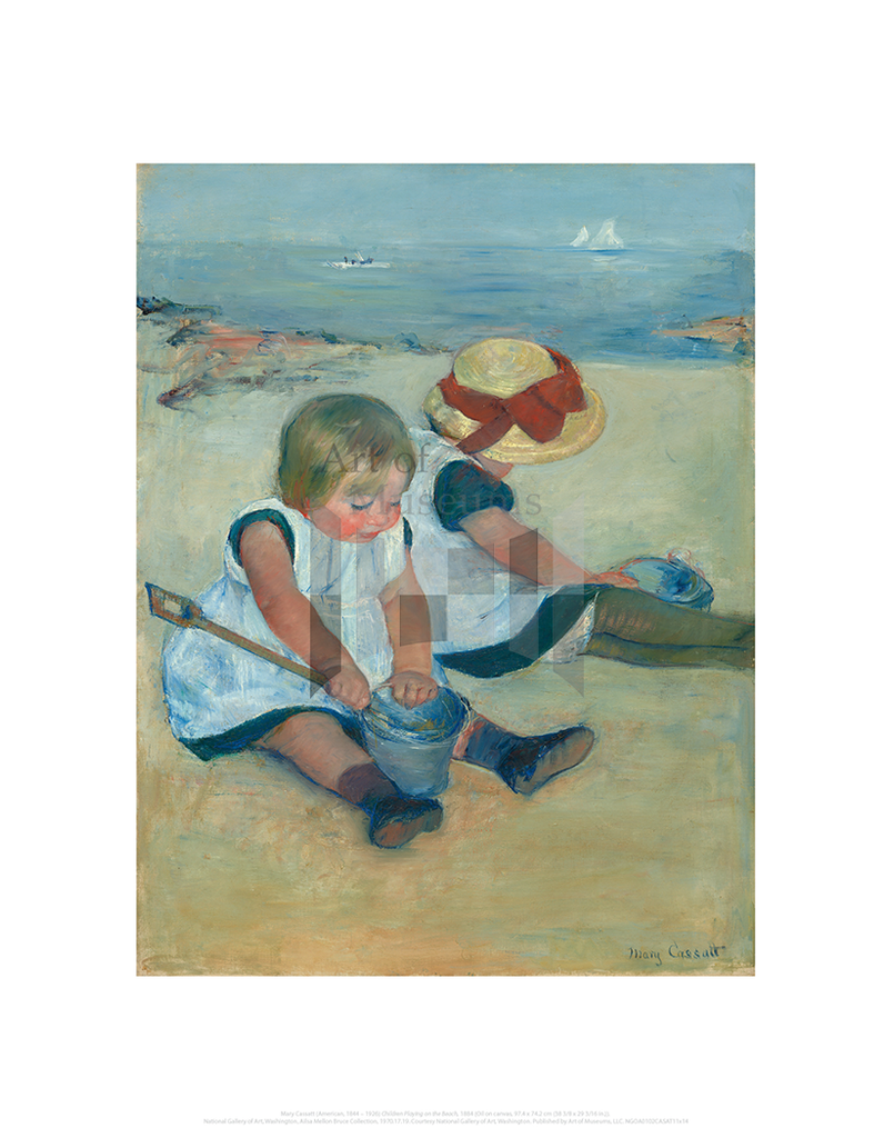 Children Playing on the Beach, Mary Cassatt
