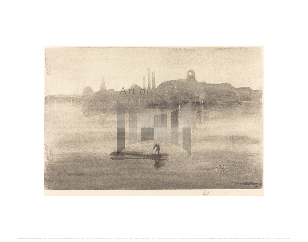 Nocturne (Nocturne: The Thames at Battersea), James McNeill Whistler