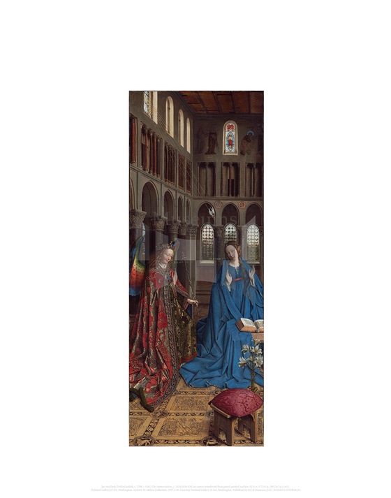 The Annunciation, Jan van Eyck