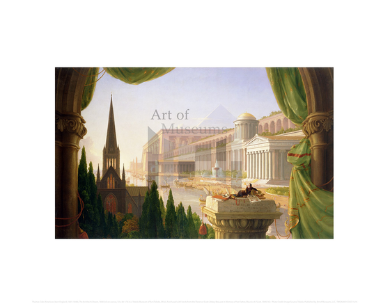 The Architect's Dream, Thomas Cole