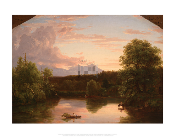 North Mountain and Catskill Creek, Thomas Cole