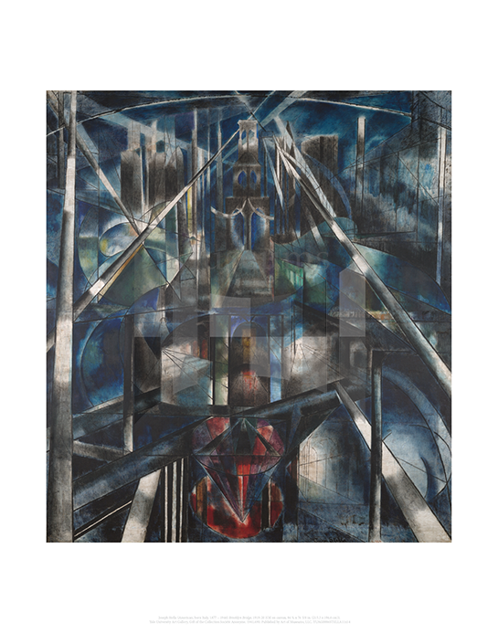 Brooklyn Bridge, Joseph Stella