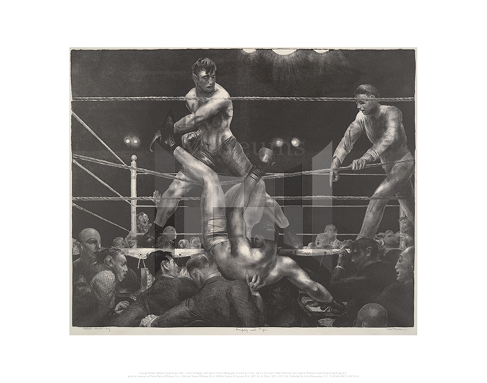 Dempsey and Firpo, George Wesley Bellows