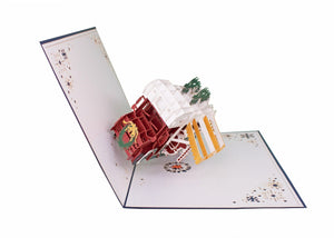 AITpop RV (Christmas) pop up card - AitPop