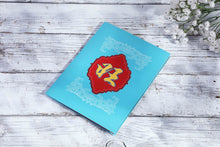 Load image into Gallery viewer, AITpop  Happy Chinese new year (blue cover) pop up card - AitPop