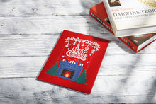 Load image into Gallery viewer, AITpop Fireplace with Santa pop up card (Red cover) - AitPop