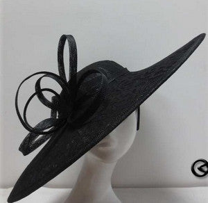 Black Lace Pattern Disc Saucer Hatinator Fascintaor Headband – Hats ... bb21d4fe278