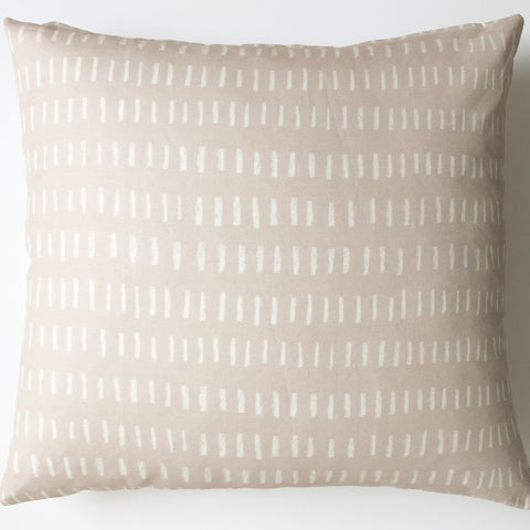 Throw Pillow Cover / L I N E S Dusty Rose