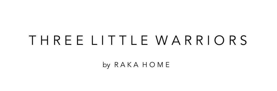 THREE LITTLE WARRIORS by RAKA MOD