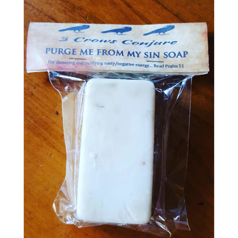 Purge Me From My Sins Soap
