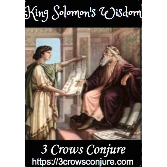 King Solomon's Wisdom Oil