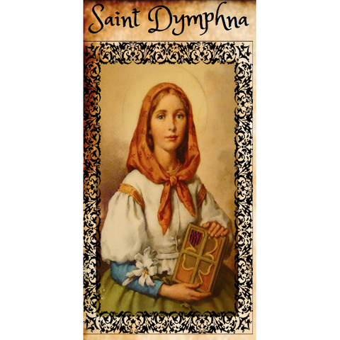 Saint Dymphna 7 Day Fixed Candle