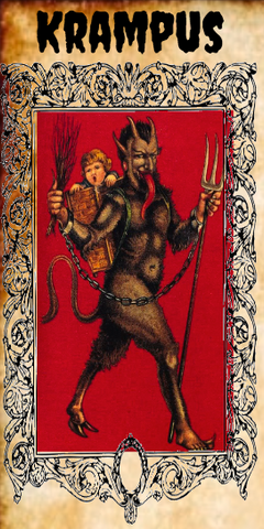 Krampus 7 Day Candle