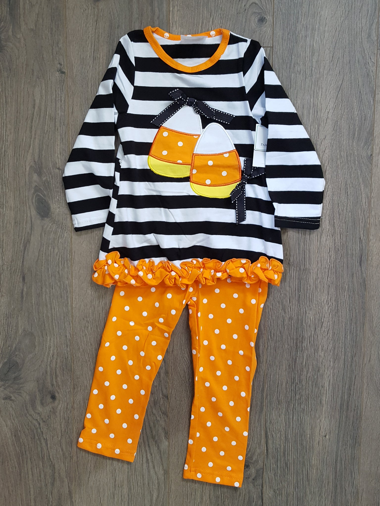 Girls Candy Corn Set - Paige & Reece