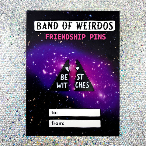BEST WITCHES // FRIENDSHIP ENAMEL PINS