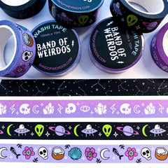 ALIEN ENCOUNTER // WASHI TAPE