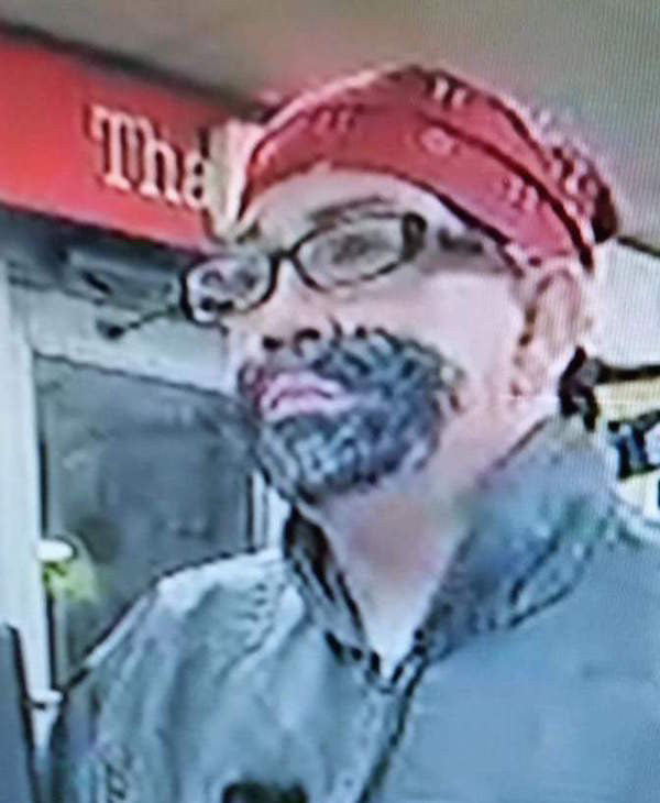 LOL!!! Florida robber draws on beard with sharpie!