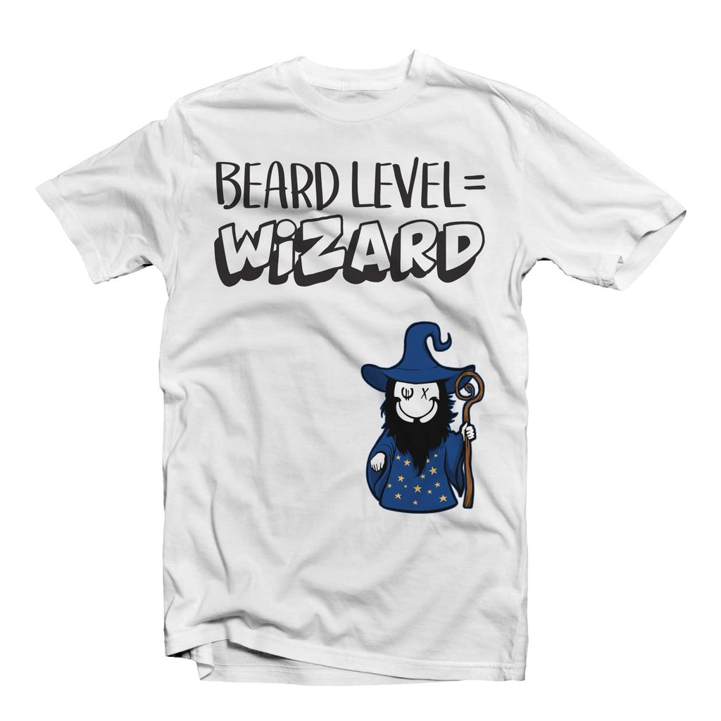 Beard Level Wizard T-Shirt