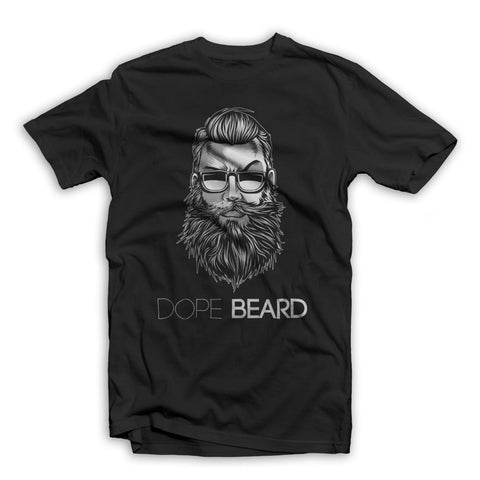 DOPE-BEARD-TSHIRT-BLACK