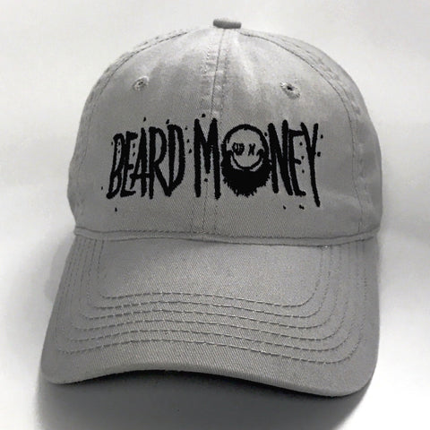 Grey Beard Money Strap Back | Dad hat